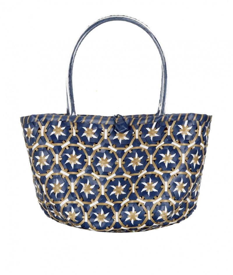Blue_Tan_White_Woven_Bag