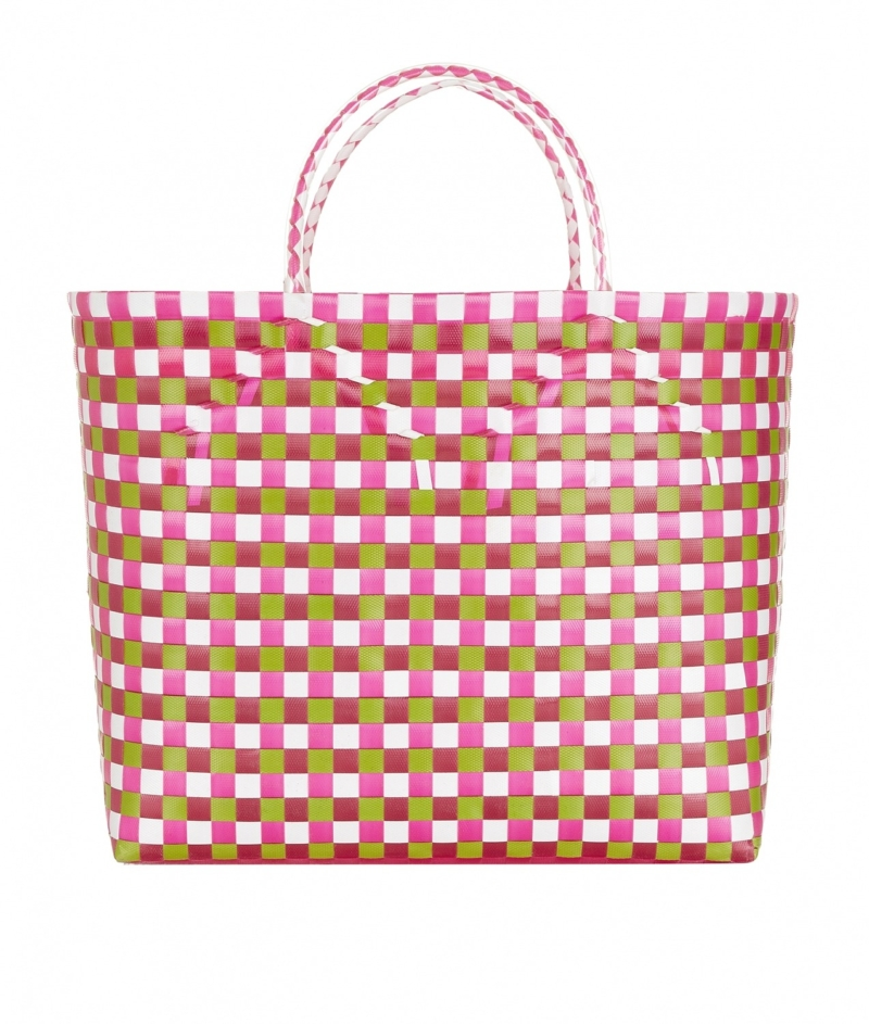 Pink_Green_White_Woven_Bag