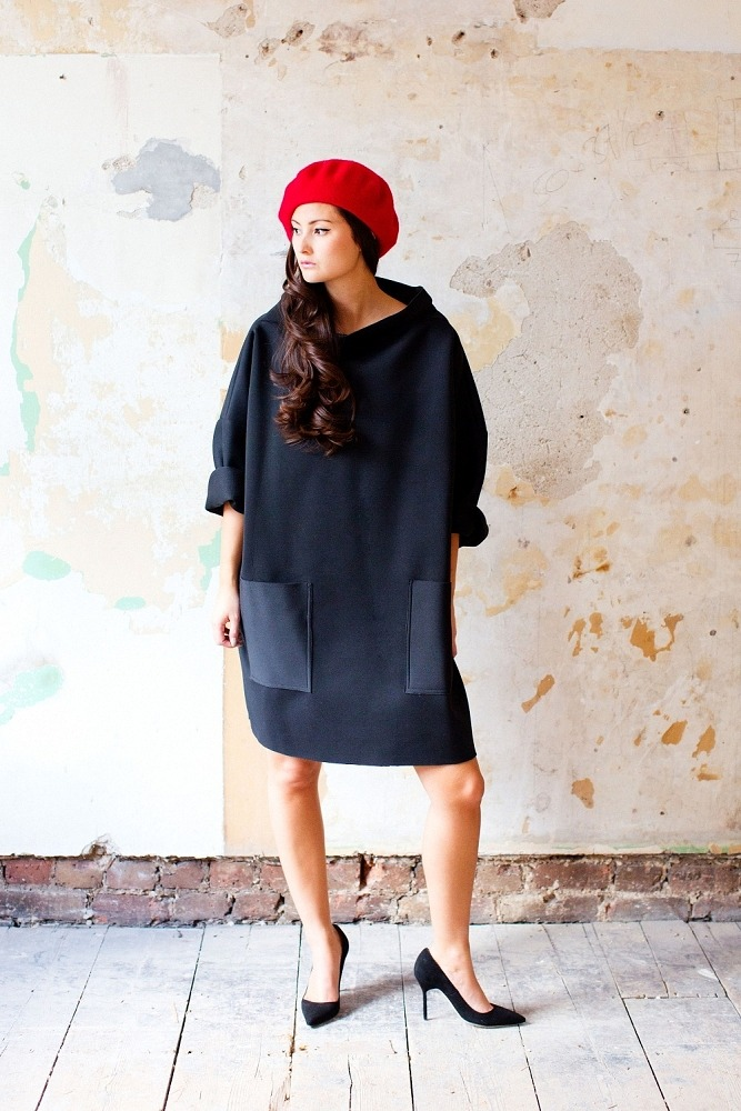 Neoprene Custom Order Smock Dress